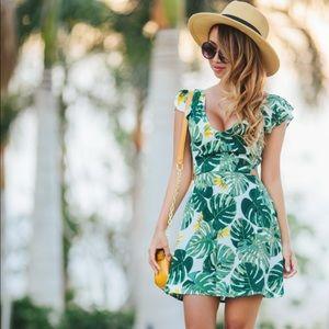 Palm Leaf 🍃 Dress 👗